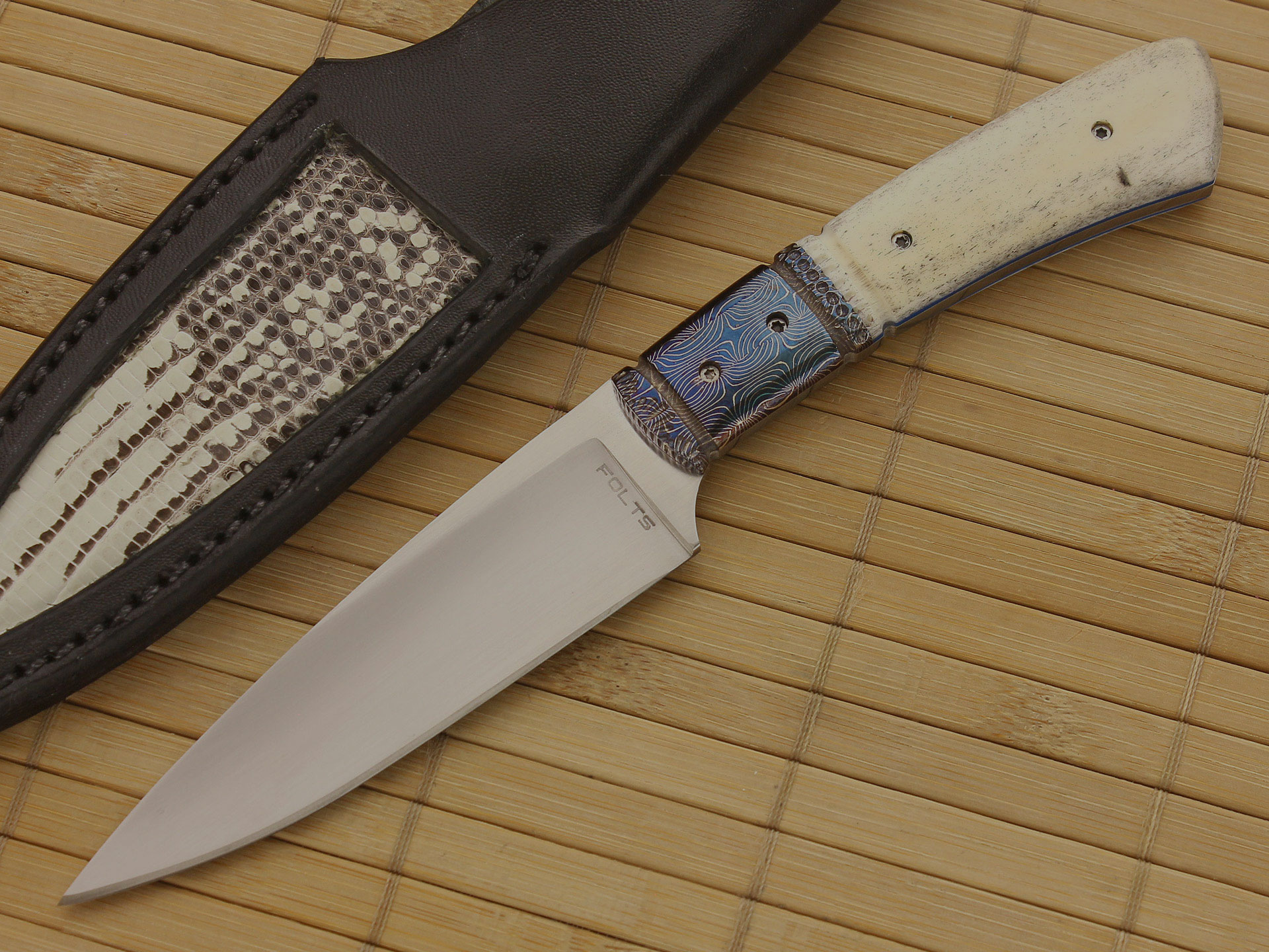 Alan Folts Fixed Blade